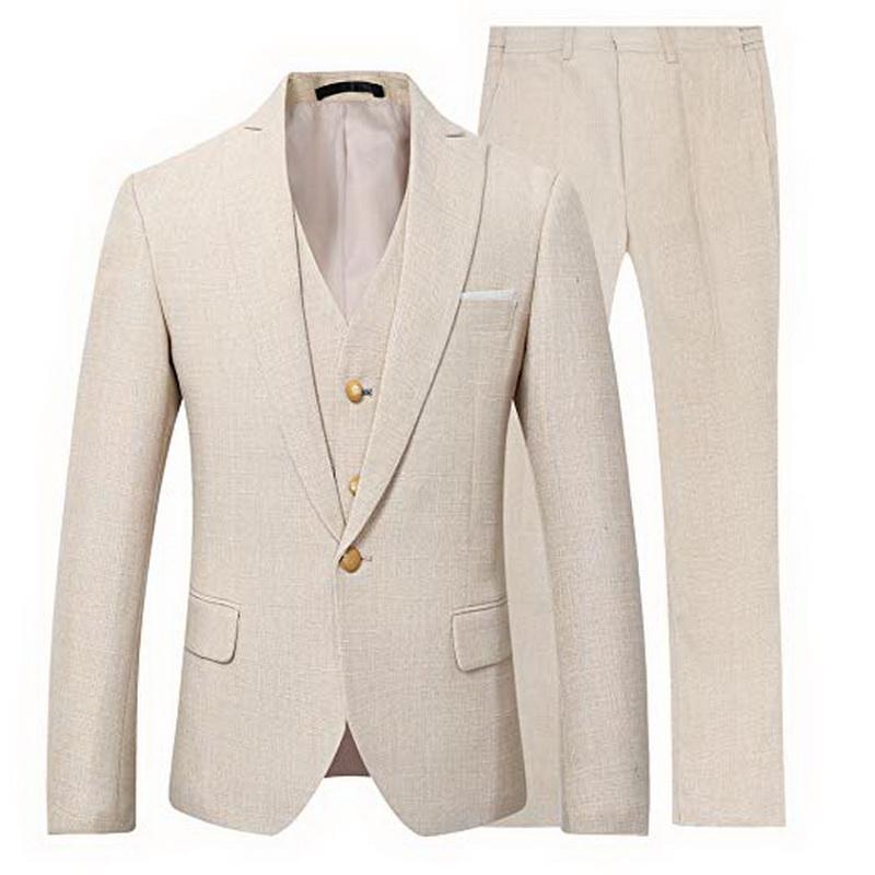 2020 personalizado Slim Fit Homens Ternos de casamento Negócios Homens Terno Homens da moda mais recente projetos colete para os homens smoking traje homme