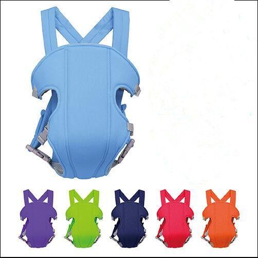 I neonati Wrap imbracature frontale rivolto bambino vettori multifunzionale del bambino cinghia traspirante portante infantile Sling zaino del bambino Kangaroo C565