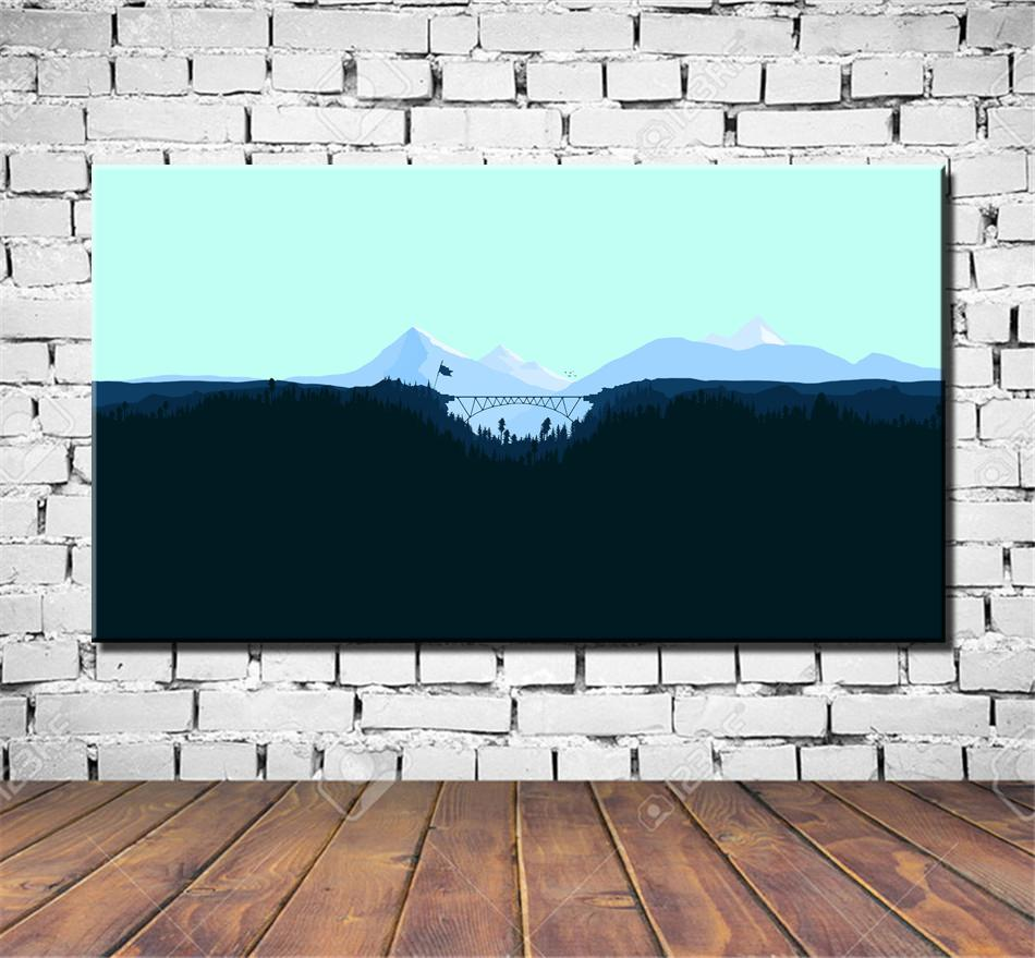 Paradise Lost,HD Canvas Printing New Home Decoration Art Painting/Unframed/Framed