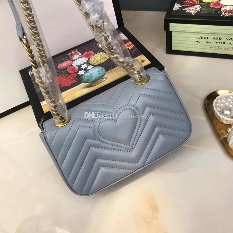 Fashion Purses Handbags Chain Shopping Wave Pattern Shoulder Messenger Designer Ladies Bag Luxury Shoulder Bag Designer Handbag Pur Mmhsx