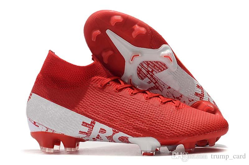2020 New 2020 CR7 Football Boots Red