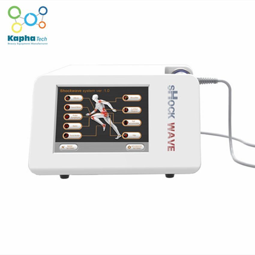 Tragbare Therapie mit geringer Intensität auf erektiler Dysfunktionstherapie / extrakorporale Stoßwellen-Physiotherapie-Maschine für ED-Behandlung