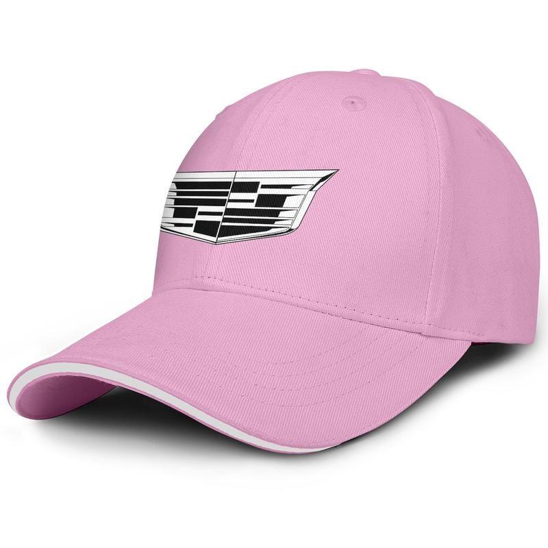 Unisex cadillac-arabalar logosu Moda Beyzbol Sandviç Şapka beyzbol İyi Kamyon sürücüsü Cap Cadillac Logo Bayi Bayrak arabalar Surrey Altın