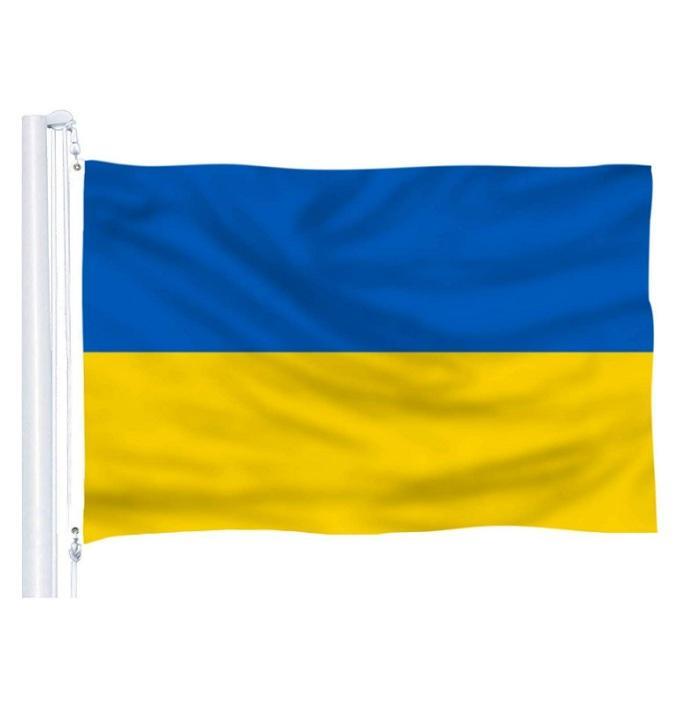 3x5 Ucrânia bandeiras e faixas de alta qualidade Nacional Hanging Publicidade para interior, exterior, festival, Usage clube