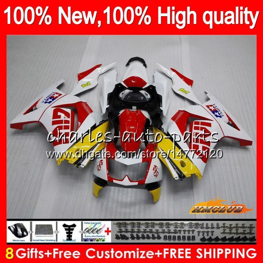 Body For KAWASAKI ZX-250R EX250R 2008 2009 2010 2011 2012 13HC.79 EX250 EX-250 ZX 250R red white hot EX 250 ZX250R 08 09 10 11 12 Fairings
