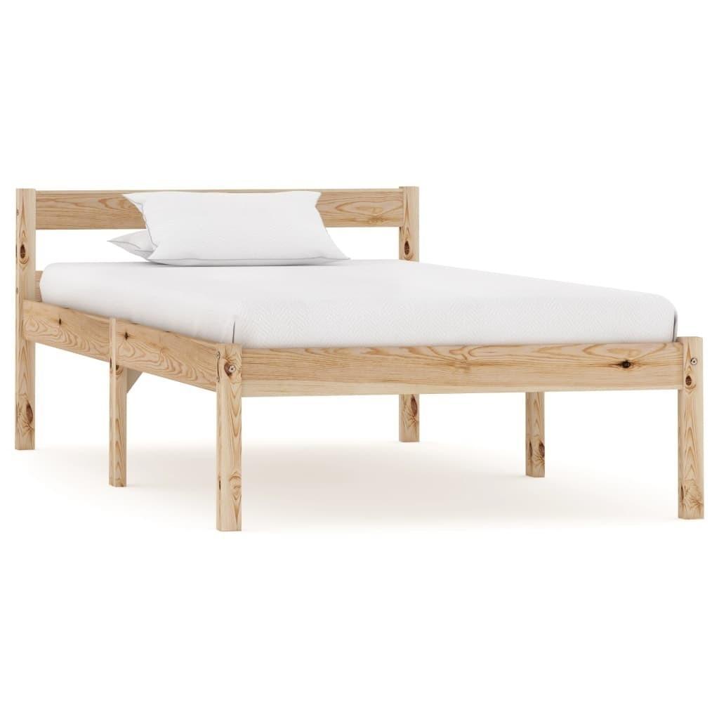 8 Solid Pine Wood Bed Frame 8x8 Cm Bedroom Furniture