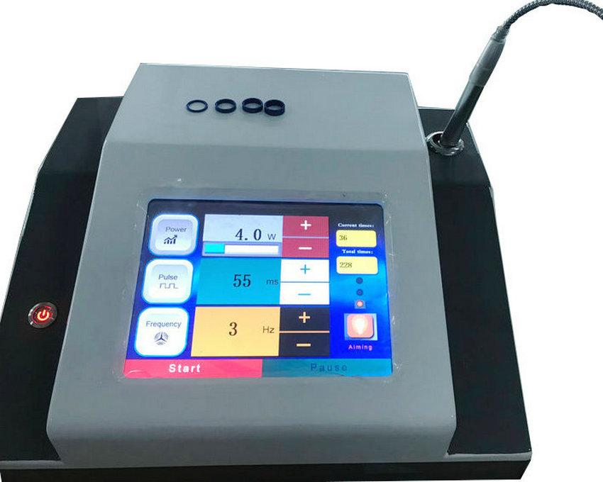 Портативная машина терапией лазера диода машины лазера удаления вены спайдера 980nm васкулярная с 2 летами свободной гарантированности