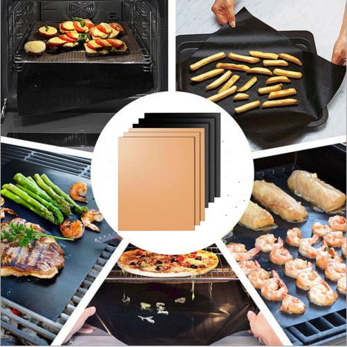 BBQ Grill Mat Magic Mats Non Stick Grilling Backing Outdoor Plate Portable Easy Clean Outdoor Picnic Cooking Tool 40x33cm Reusable
