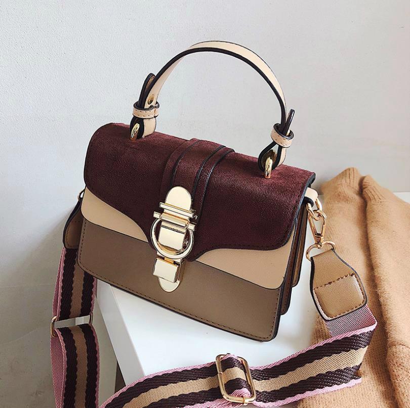 Bolso del bolso bolsos de diseño de Mujeres de la vendimia para informal salvaje rejilla retro femenino manera de los bolsos de hombro del bolso de Crossbody # m3vd