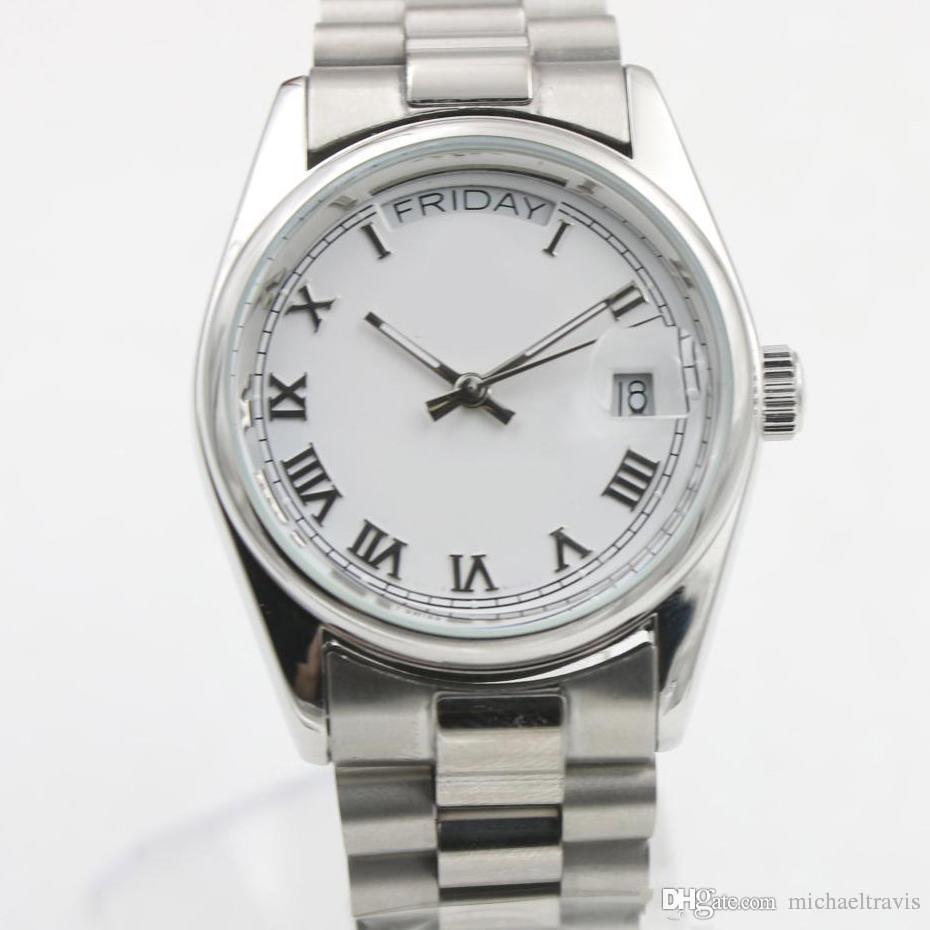 2019 뜨거운 판매 womens 시계 여성 자동 시계 36mm 크기 사파이어 고품질 여자 womens 시계 무료 배송