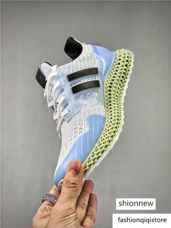 brang FutureCraft 4D Konsorsiyumu ZX 4000 Koşu ayakkabıları kadın erkek Mens Daniel Arsham zx4000 Tasarımcı Eğitmen Spor Spor ayakkabılar 40-45