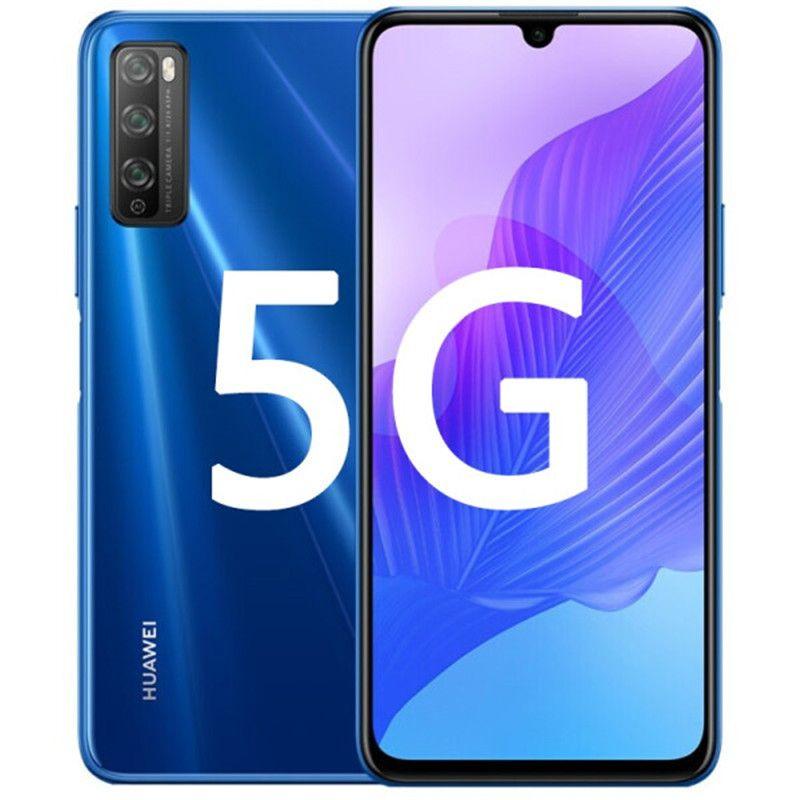 "Original Huawei Enjoy 20 Pro 5G Mobile Phone 6GB RAM 128GB ROM MTK 800 Octa Core Android 6.5"" Full Screen 48.0MP Fingerprint ID Cell Phone"