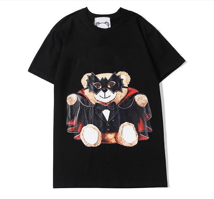Мужская мода Hot Street Женщины тенниска лета Марка рубашки Дизайнер Футболка Luxury Deer Перемычки Повседневный Мужчины Женщины Unisex 2020603Q