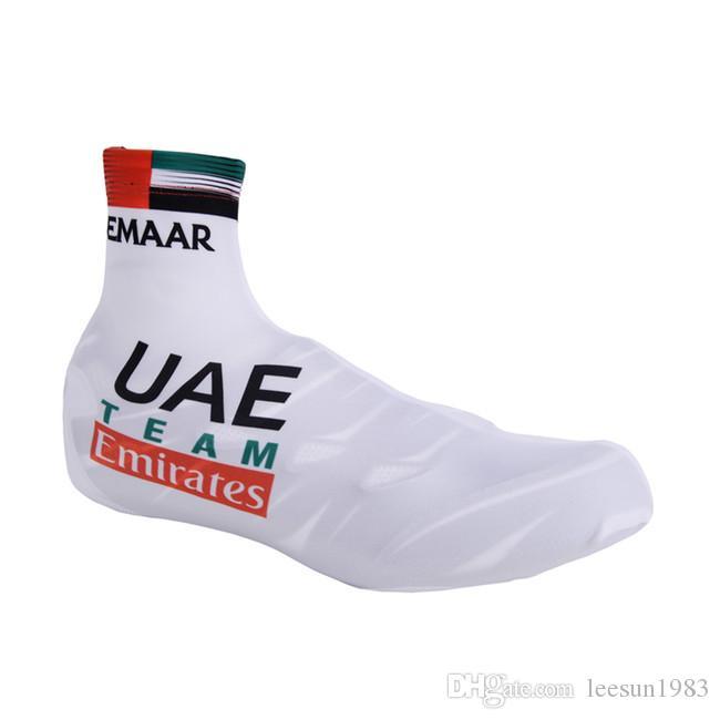 2019 UAE Promannschaft SHOE COVER FAHRRAD shoecovers GRÖSSE: S-XXL