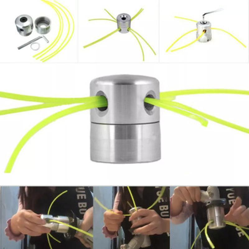 Universal Trimmer Head Cylindrical Head Grass Cutter Line for Lawn Mower Garden