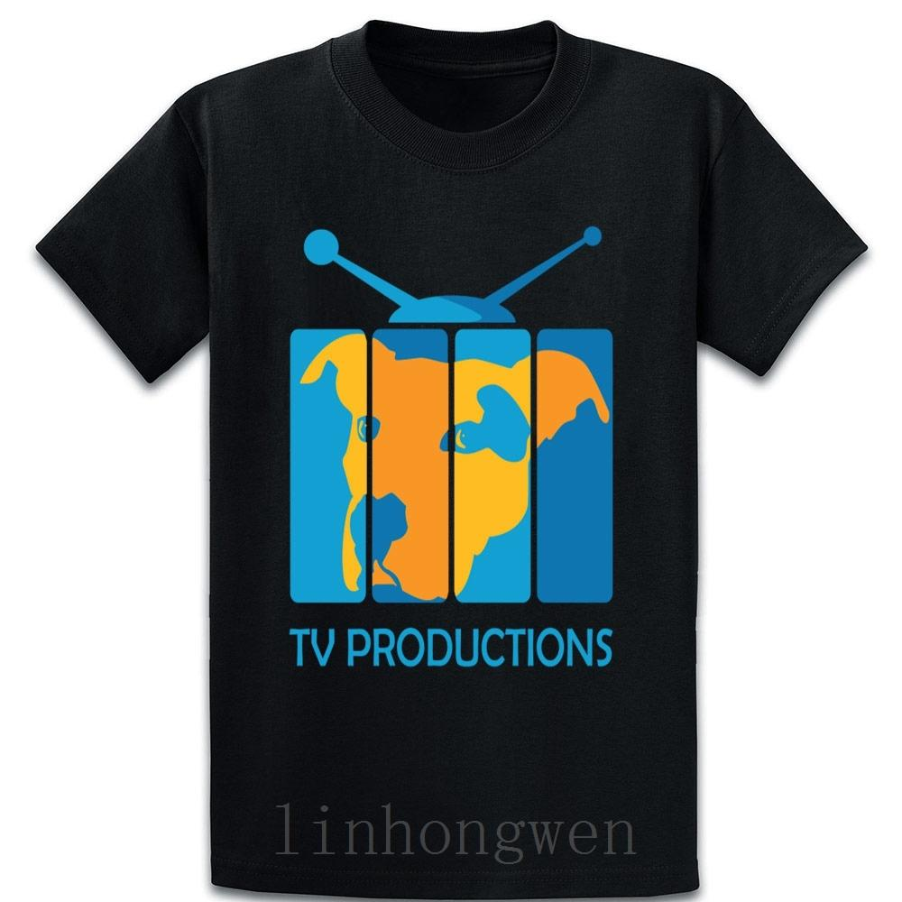 Dog Tv Show T-Shirt Baumwolle Fitness Formal Authentic-Sommer-Art O-Ansatz Original-Customize Shirt