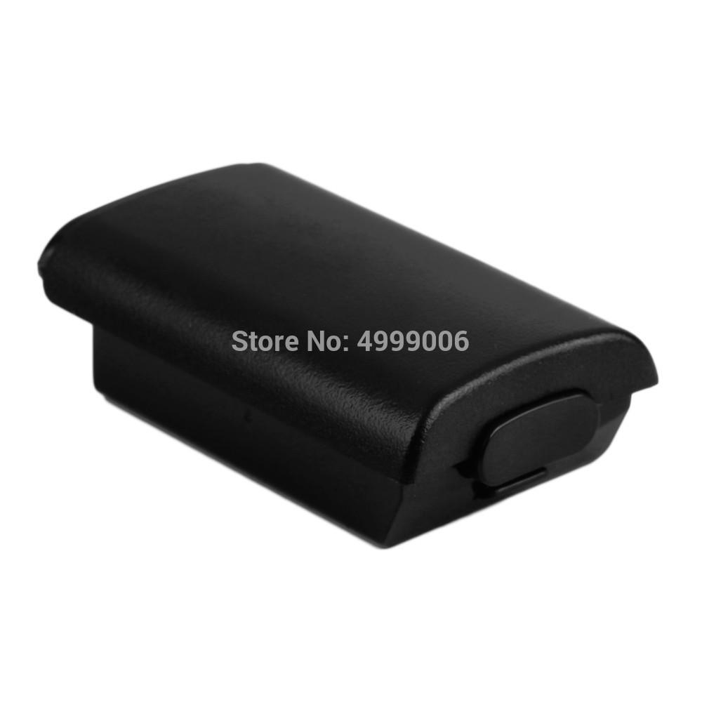 100PCS 충전식 AA 배터리 백업 커버 케이스 쉘 팩 X 박스 360 무선 컨트롤러 새 게임 부속품으로 balck과 흰색