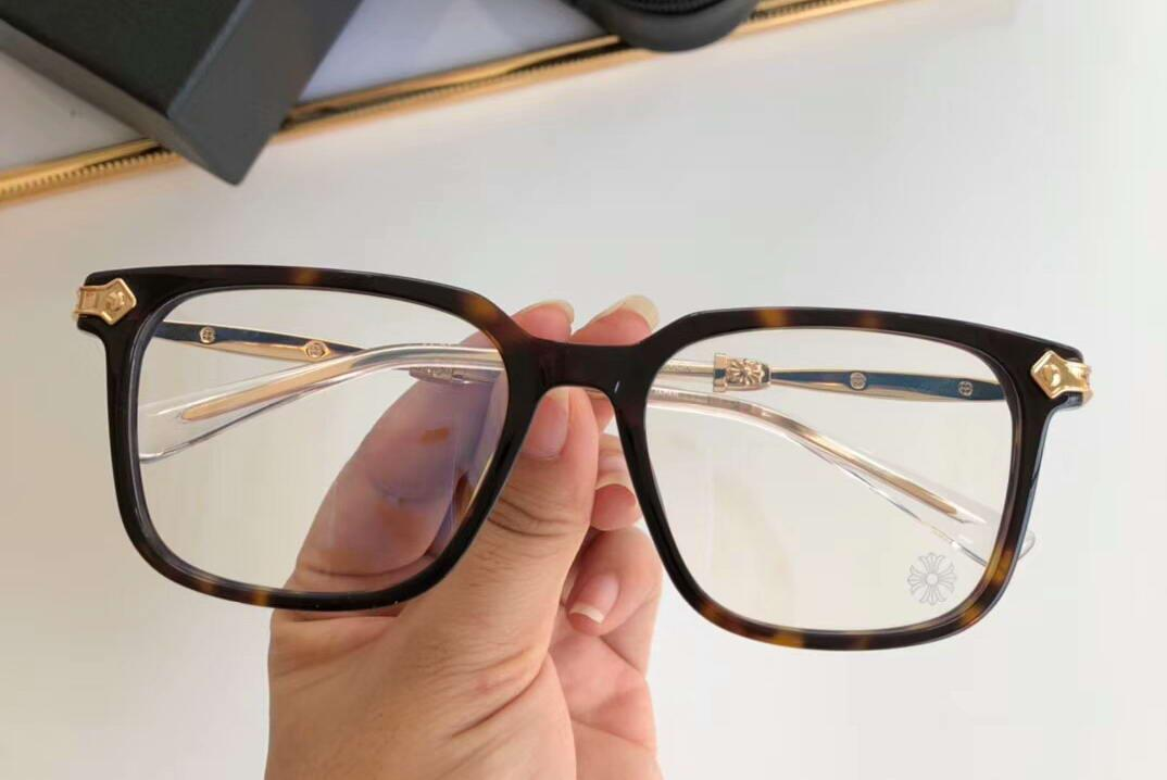 ORALOVER Tortoise Gold Eyeglasses Glasses Square Frame Eye Wear Men Designer sunglasses New With Box