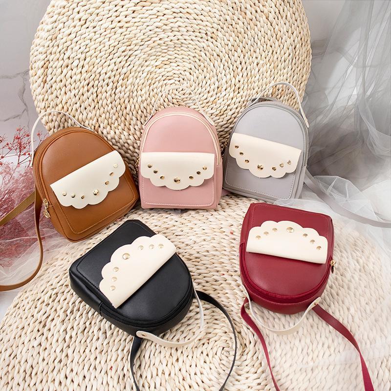 2020 Summer New Cool Sweet Lady Mini sac à main Collège style Femmes Femme Sac à bandoulière Messenger Bag
