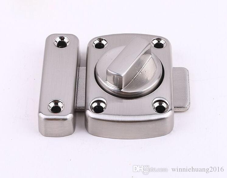 Universal Door Latch Gate Latch Security Sliding Door Lock Perno de puerta Aleación de zinc con tornillos Latch Envío gratis