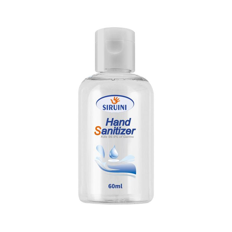 SIRUINI hand sanitizer Disposable Gel Hand Sanitizer Travel Mini Sanitizer 60ml 120ml 300ml Top Reselling Items In stock