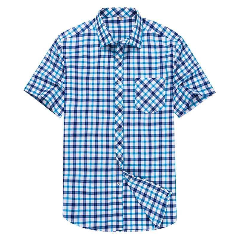 Slim Fit Homens de Moda de 2019 Verão de luxo shirt curto sleev Vestuário Masculino Casual Shirt Muscle Musculação Tops Streetwear M-5XL