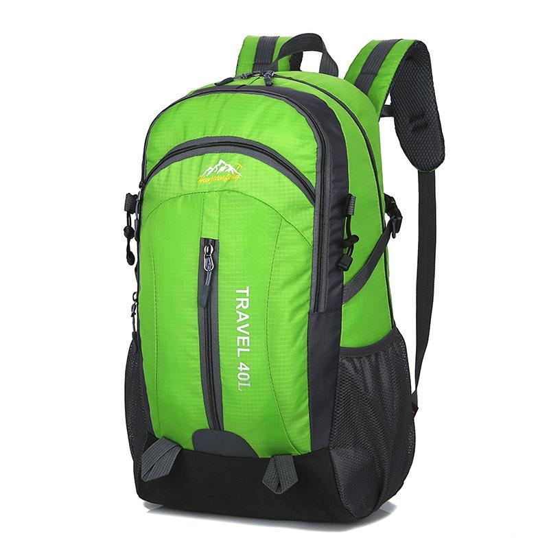 Pinksugao lusso zaino della scuola di design Borse uomo zaino borse a tracolla di vendita calda del sacchetto di scuola studente impermeabile colore nero materiale
