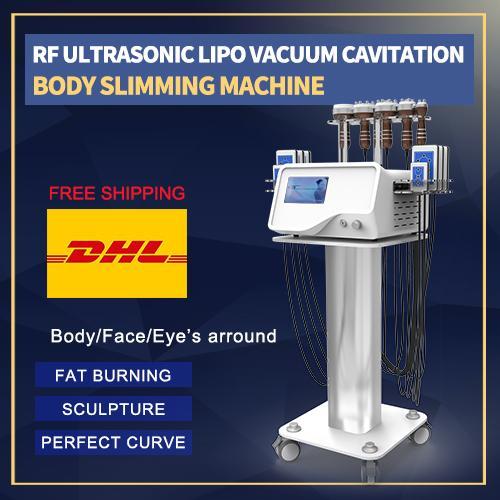 горячая продажа кавитации 40K уменьшая машину 5 в 1 кавитация кавитация ультразвуковой для похудения массажер для спа