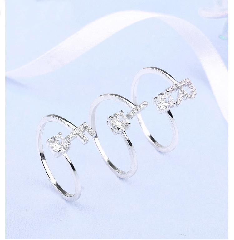 أزياء 925 الفضة الاسترليني افتتاح CZ خواتم منتصف فنجر خواتم قابل للتعديل لسيدة نساء بنات حفلة عيد الميلاد هدايا مجوهرات