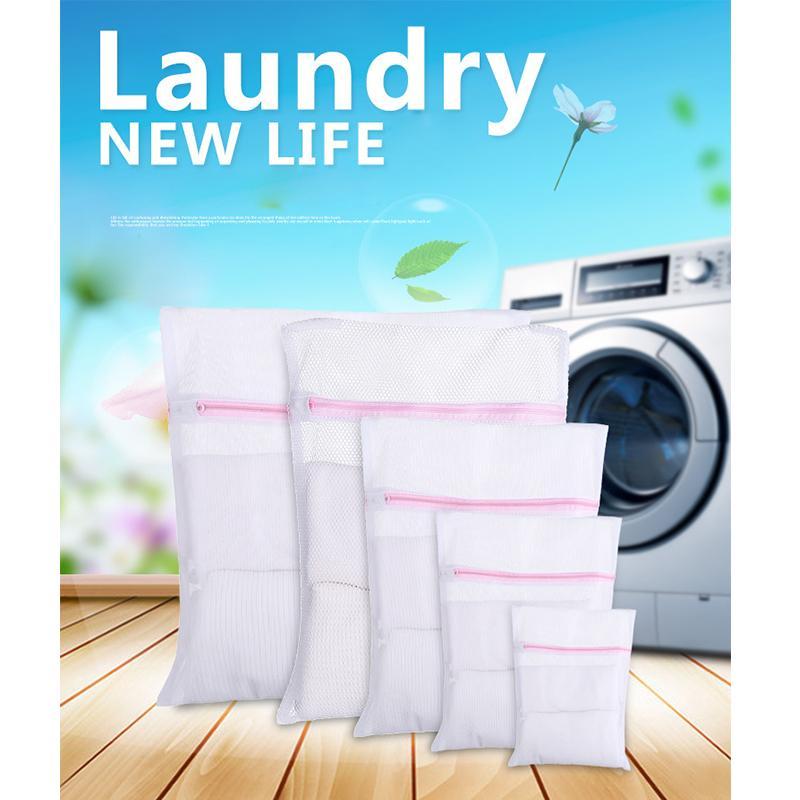Çamaşır Çanta S L Giyim Çamaşır Makinesi 3 Boyutları Sütyen Aid İç Mesh Net Yıkama Çanta Kılıf Sepeti