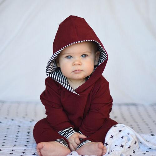 유아 아기 소년 소녀 의류 세트 아동 의류 가을 붉은 격자 무늬 긴 소매 까마귀는 바지 탑 의상 소년 소녀 2 개