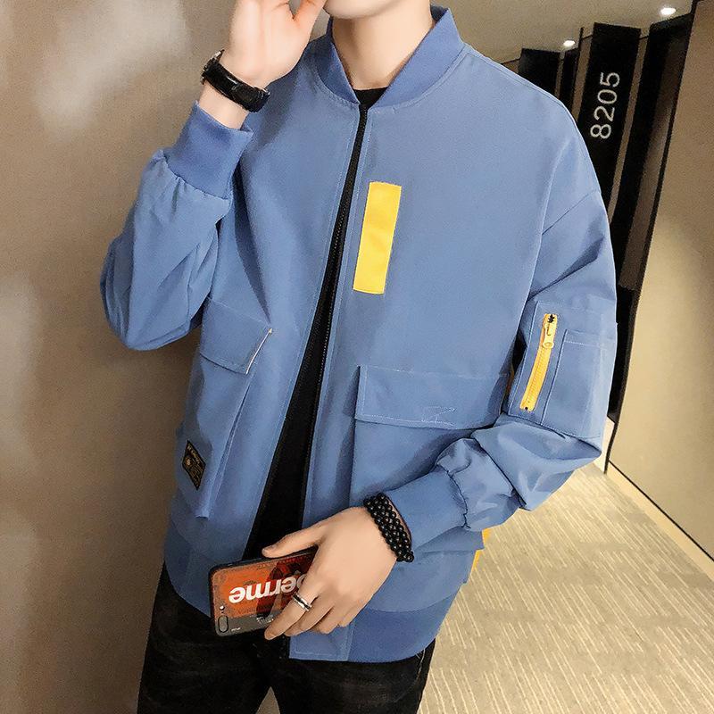 INS Popular Workwear Coat Men's Popular Brand Korean-style Loose-Fit Jacket Men's Trend Versatile Handsome INS Casual Tops