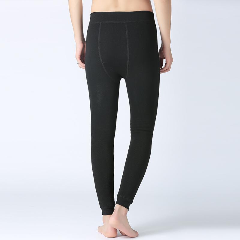 Winter Warm Thicken Men Fleece Cotton Long Leggings Pants Thermal Underwear Bottoms Male Underwears