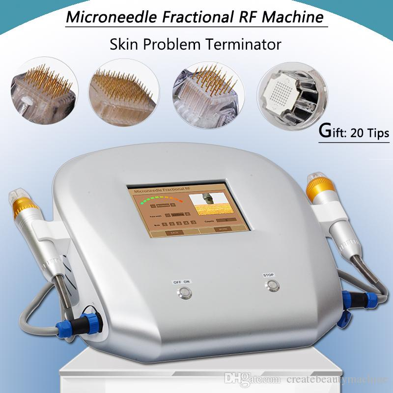 Fractional rf microneedle machine facial magic micro needle roller tattoo speed removal portable fractional rf device free shipping
