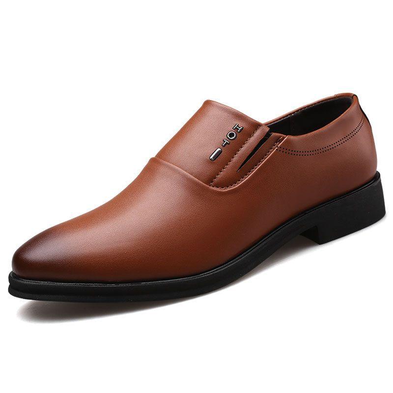 chaussures en cuir formel pour les chaussures d'affaires hommes hommes chaussures classiques hommes Zapatos de Vestir hombre cuero erkek klasik AYAKKABI Sepatu Kantor