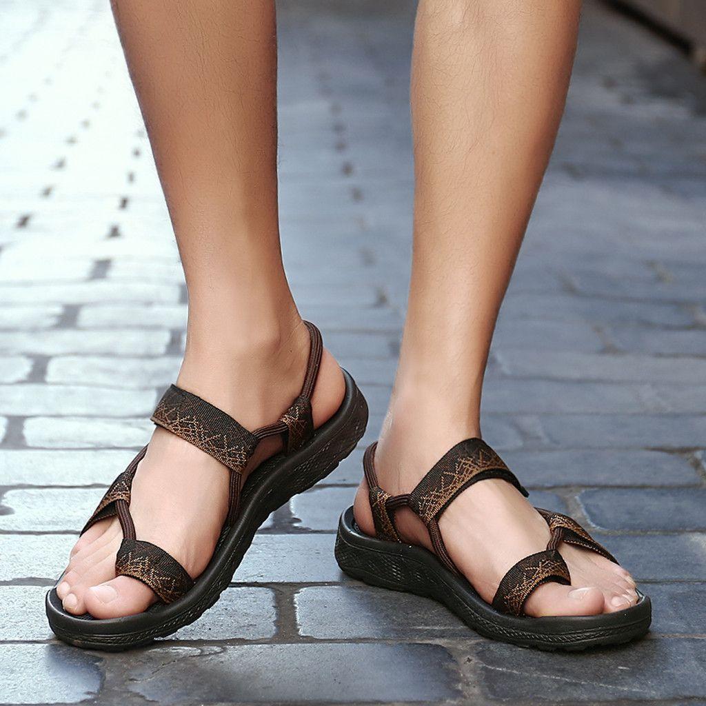 2019 Summer Ladies Flats Flip Flops Thong Sandal Slippers Casual Beach Shoes