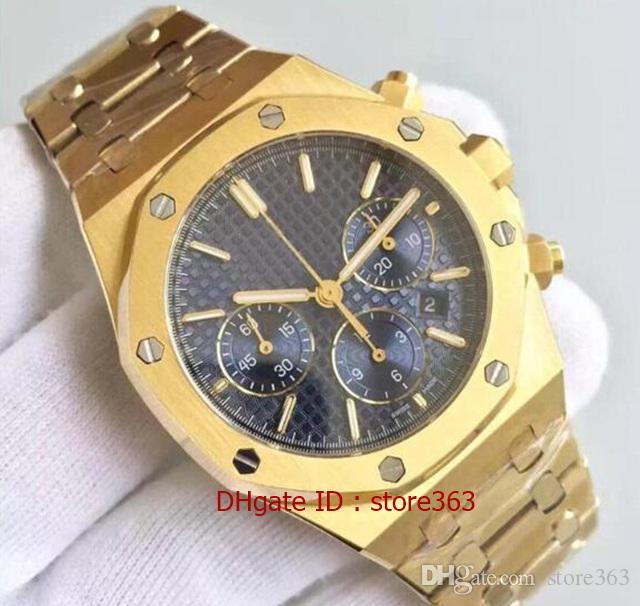 Orologio da polso impermeabile in acciaio inossidabile di alta qualità con zaffiro in acciaio inossidabile di alta qualità