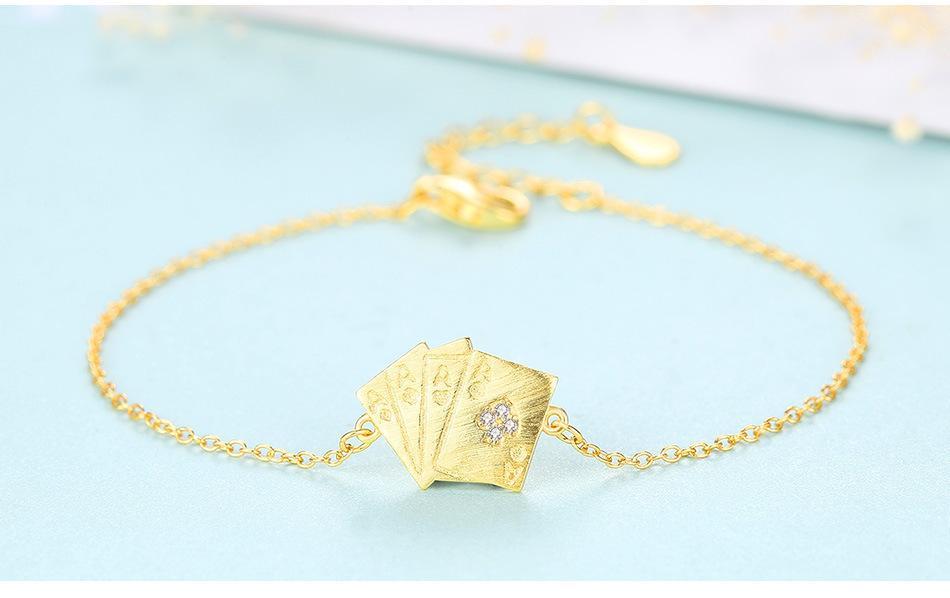 S925 стерлингового серебра простой браслет дизайн женский браслет