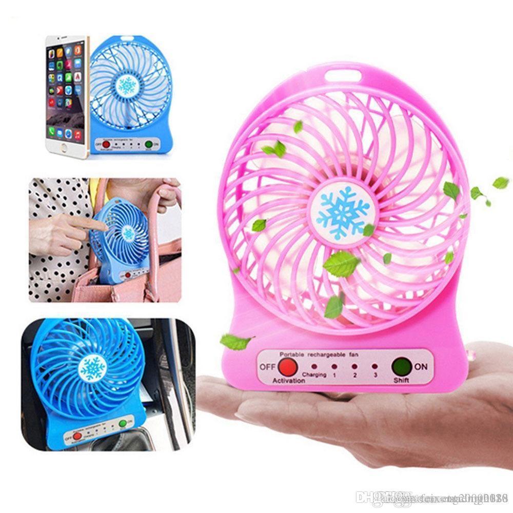 تصميم الأزياء وافد جديد ترويج المبيعات DZ الصيف الساخن بيع Ventilateur portatif القابلة لإعادة الشحن portatif دي لا بطاريات USB