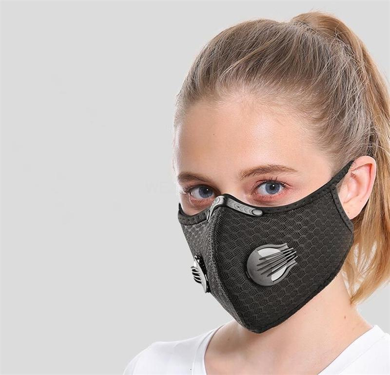 Free DHL Ship!5 Layers Of PmMask 2.5 Activated Carbon Element Protective Insert Anti-Dust Mask Outdoor Headscarf 2 QA9UF1