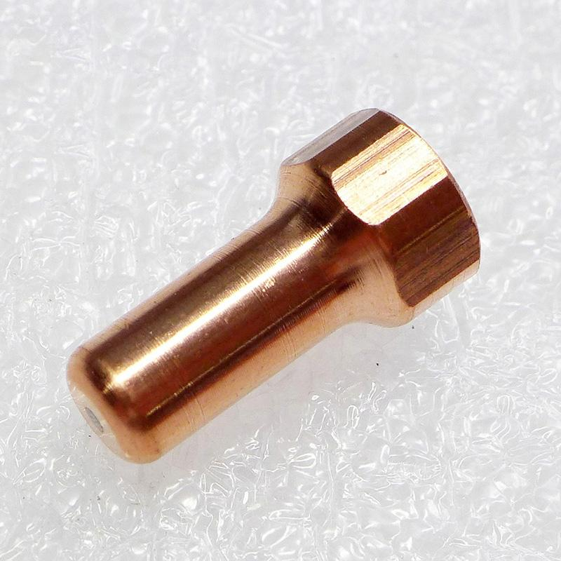 20pcs Plasma maçarico de corte tocha consumíveis PT80 PT80 PT 80 IPT 80 IPT-80 PTM80 PTM80 Eléctrodo