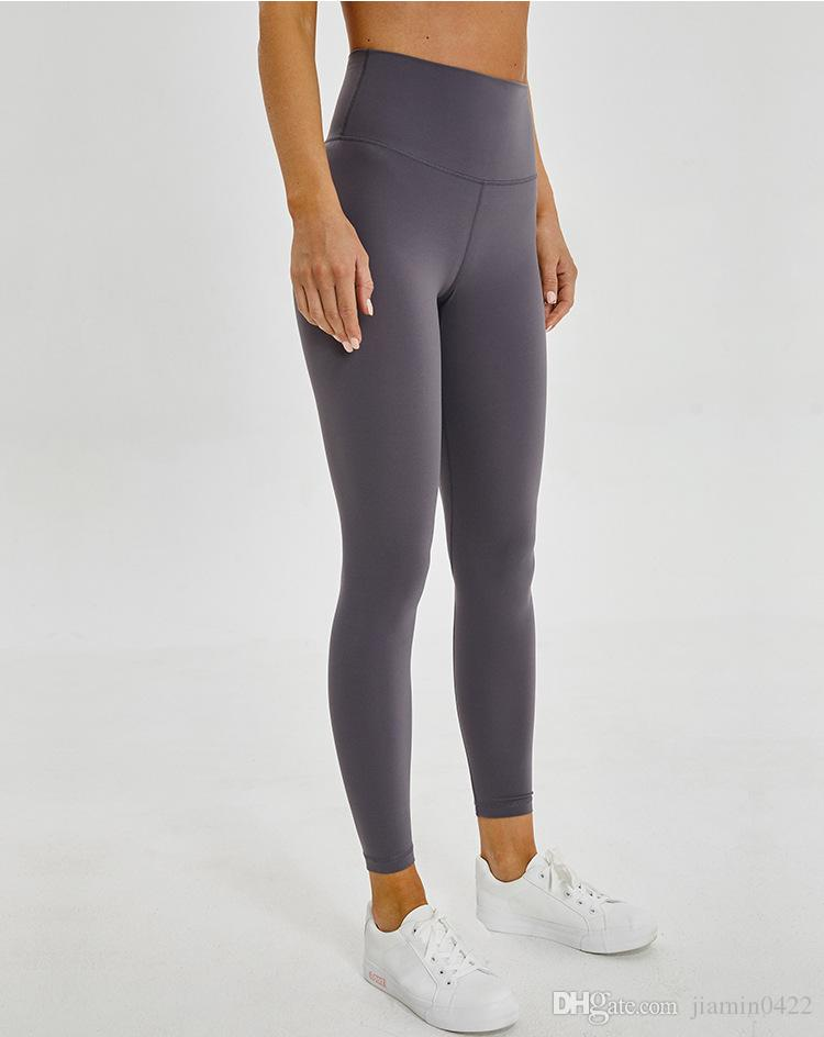 Mejor Yoga para mujer Leggings cintura alta pantalones de yoga para las mujeres con los bolsillos de los pantalones de yoga caliente Sexo Imágenes