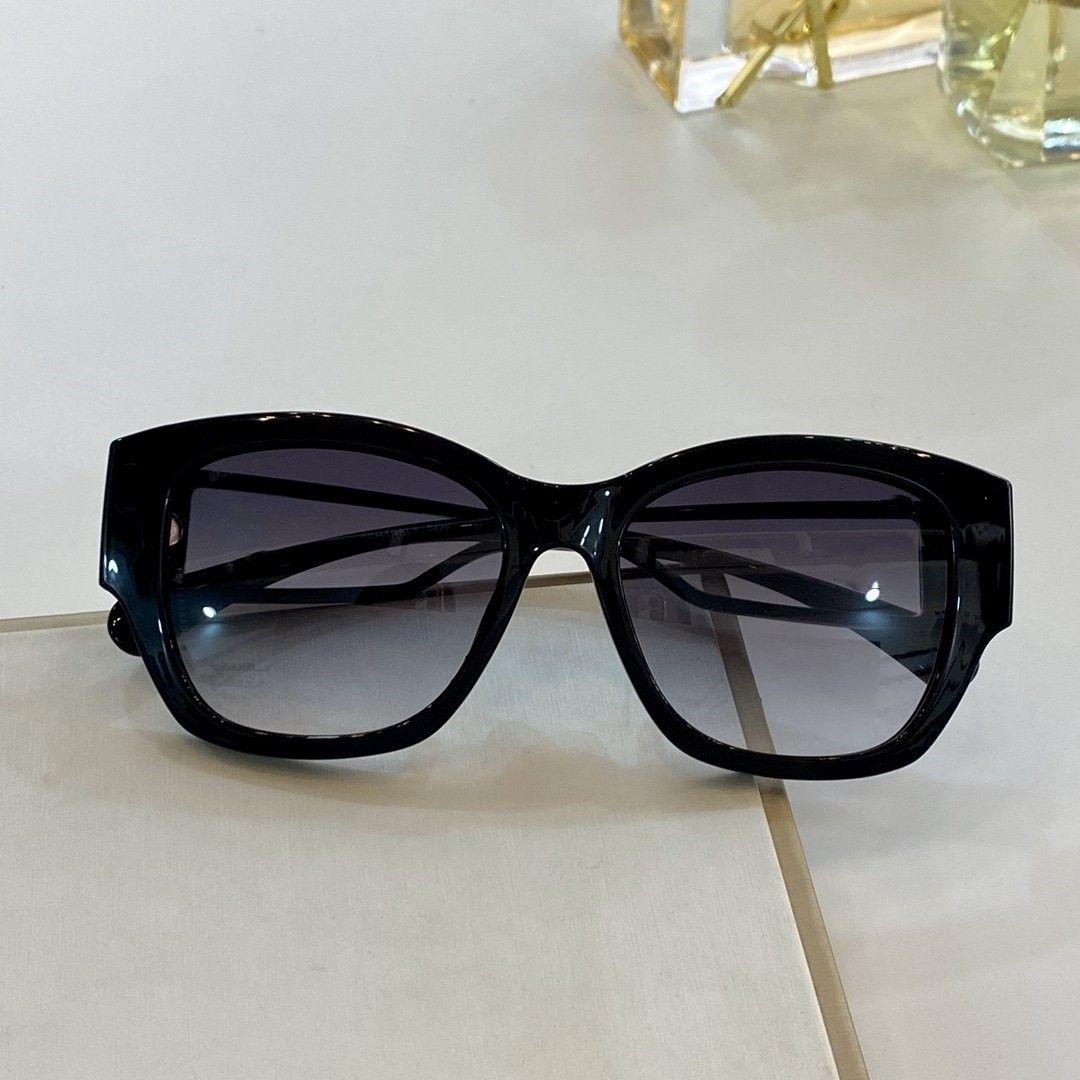 женщины роскошные дизайнерские солнцезащитные очки черный серый затененный 5429 Gafas de sol дизайнерские оттенки очки с коробкой