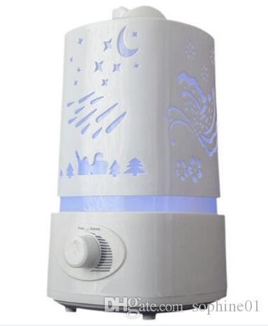 حار بيع 1500ML بالموجات فوق الصوتية مرطب الهواء للمنزل الناشر Humidificador ميست صانع 7Color LED رائحة موزع موجات الصوت بالتساوي