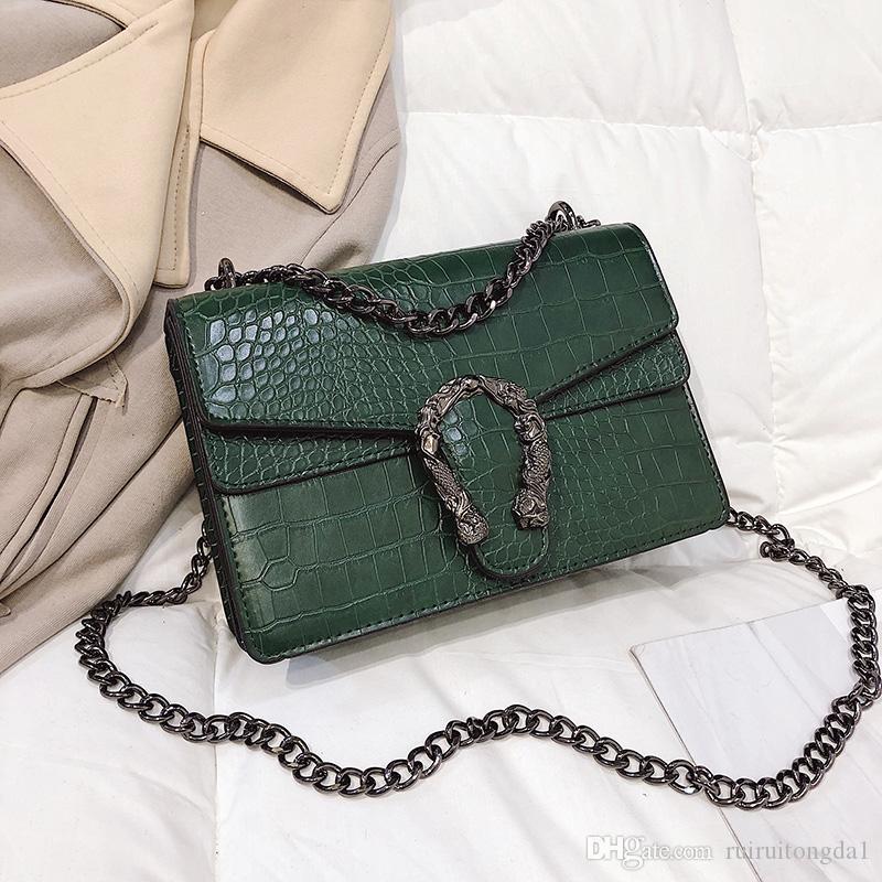 2019 Широкий Простые сумки Модные сумки Засов сумки женская сумка Сумка плеча моды PU кожаные женские Сумка xiaoxiang / 3