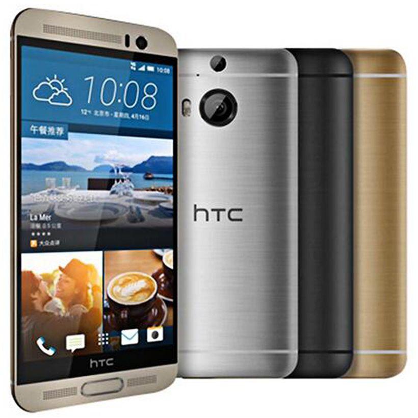 تم تجديده HTC ONE الأصلية M9 M9 + زائد 5.2 بوصة الثماني الأساسية 3GB RAM 32GB ROM 20MP كاميرا 4G LTE الروبوت الهاتف الخليوي الذكية DHL مجاني 10pcs