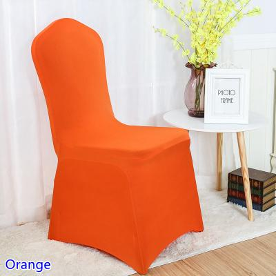 Awe Inspiring Colour Orange Spandex Chair Covers For Wedding Decoration Lycra Stretch Party Chair Cover Wholesale Flat Front Close Banquet Slipcover For Recliner Short Links Chair Design For Home Short Linksinfo