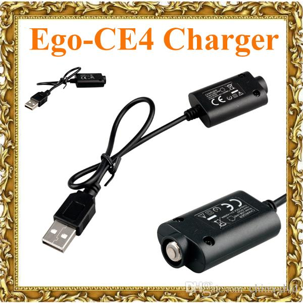 Ego USB Charger Cable Ego CE4 Electronic Cigarette USB Charger for ego-t vision spinner ecig Battery 18650 Battery Vapor Ecigs Charger