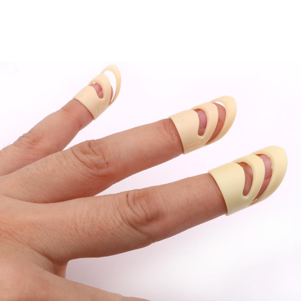 Finger Nail Acoustic Electric Classical Guitar Fingertip Picks Protectors