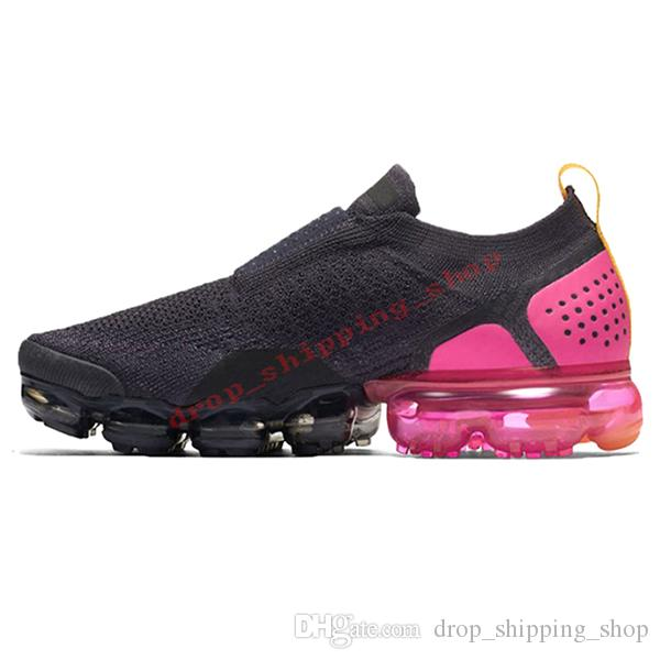 Nike Air Max Vapormax FLYKNIT Moc 2 Zapatillas De Running Sin Cordones Para Hombres Mujer NEO TURQUOISE Neutral Olive University Gold Red Runners